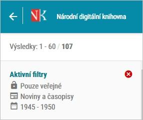 NDK - aktivní filtry