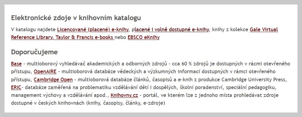 Obr. 2: Nesprávně uvedený seznam, ve kterém je výčet položek uveden formou běžného odstavce